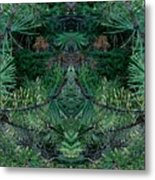 We Live In The Pines Metal Print
