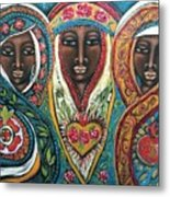 We Three Queens Of Orient Are Metal Print
