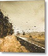 Weather Roads Metal Print