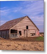Weathered Old Barn Metal Print