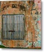 Weathered Wall  Metal Print