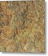 Weathered Yorkstone Paving Metal Print