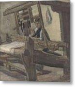 Weaver Nuenen, December 1883 - August 1884 Vincent Van Gogh 1853 - 1890 3 Metal Print