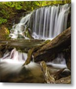 Weavers Creek Falls Metal Print