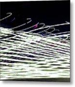 Web/light Metal Print