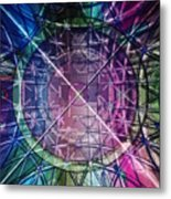 Web Matrix Metal Print