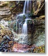 Webwood Falls Metal Print