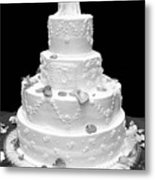 Wedding Cake Metal Print