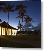 Wedding Chapel At Turtle Bar Resort Metal Print