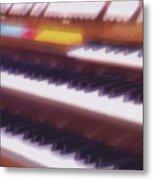 Wedding Chapel Organ Metal Print