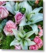 Wedding Flowers Metal Print