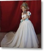 Wedding Gown Metal Print