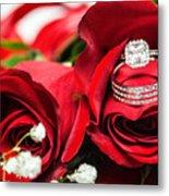 Wedding Rings Metal Print