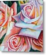 Wedding Roses Metal Print