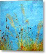 Weeds And Water Metal Print