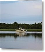 Weekend Boating Metal Print
