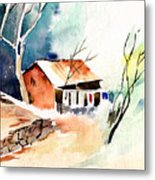 Weekend House Metal Print