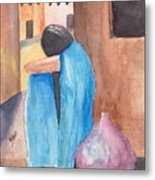 Weeping Woman  Metal Print