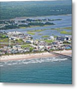 Welcome Aboard Surf City Topsail Island Metal Print