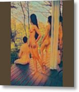 Welcome The Dusk Metal Print