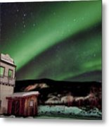 Welcome To Dawson City Metal Print