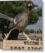 Welcome To Fort Stockton Metal Print