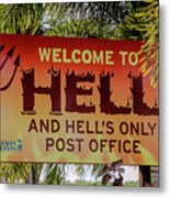 Welcome To Hell Metal Print
