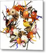 Welcome To My Nest Metal Print