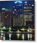Welcome To Pittsburgh Metal Print
