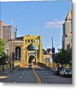 Welcome To Pittsburgh Pa Metal Print
