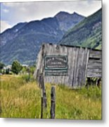 Welcome To Telluride Colorado Metal Print