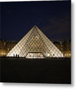 Welcome To The Louvre Metal Print