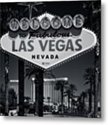 Welcome To Vegas Xi Metal Print