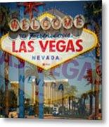 Welcome To Vegas Xiii Metal Print