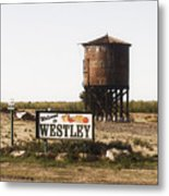 Welcome To Westley Metal Print