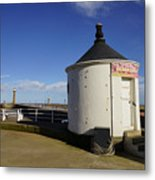 Welcome To Whitby Metal Print