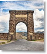 Welcome To Yellowstone Metal Print
