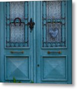 Welcoming And Beautiful Entrance Metal Print