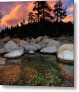 Welcoming Waters Metal Print