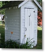 Well Manicured Water Closet Metal Print