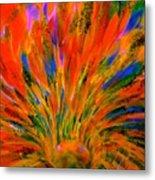 Well Of Colors Metal Print
