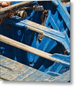 Well Used Fishing Boat Metal Print