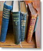 Well Worn ... Well Read ... Well ... Metal Print by Gwyn Newcombe