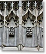 Wellesley College Tower Court Detail Metal Print