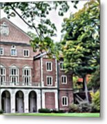 Wellesley College Walsh Alumni Hall Metal Print