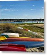 Wellfleet Harbor Cape Cod Metal Print