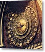 Wells Cathedral Astronomical Clock  Metal Print