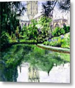 Wells Cathedral Metal Print