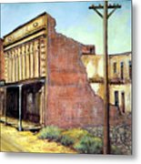 Wells Fargo Virginia City Nevada Metal Print by Evelyne Boynton Grierson