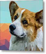 Welsh Corgi Metal Print